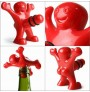 Happy man bottle stopper