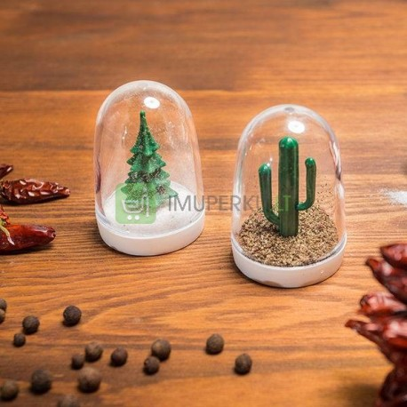 Trees - salt and pepper shakers