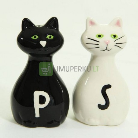 Salt & Pepper Shakers CATS