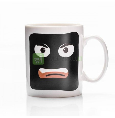Robbery color changing mug