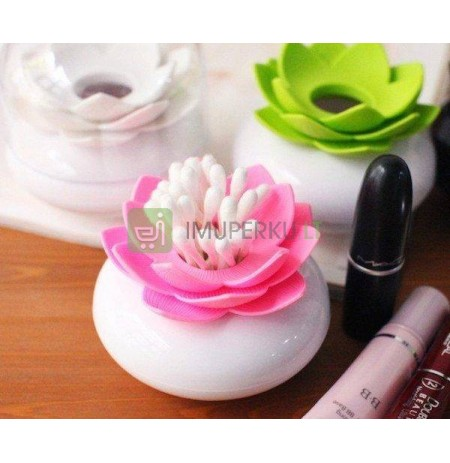Lotus bud & tooth pick holder _ PINK