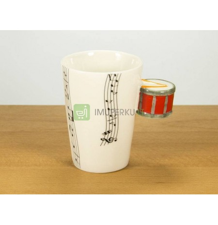 Music mug - RED DRUM