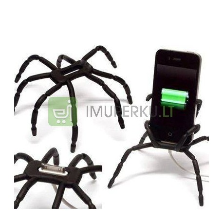 Spider phone holder - black