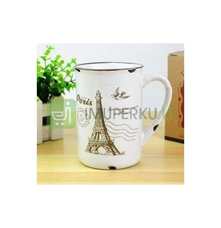Retro porcelain mug - Paris