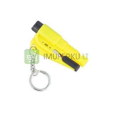 Resque key chain yellow