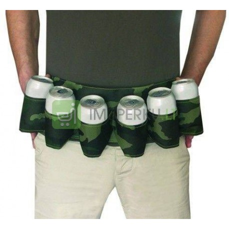 Beer Belt military camouflage