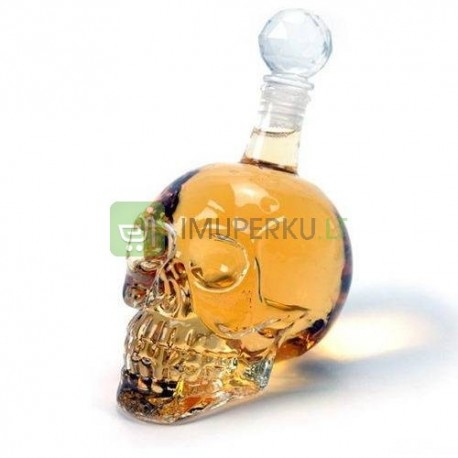 Crystal head bottle 500 ml