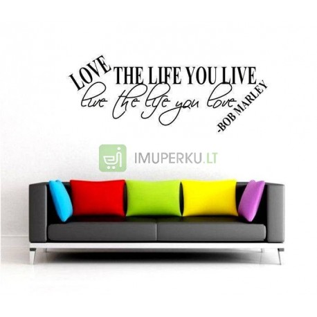 Deco wall sticker Bob Marley