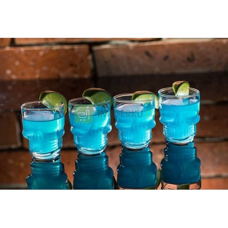 Skull shot glass 4 pcs. set