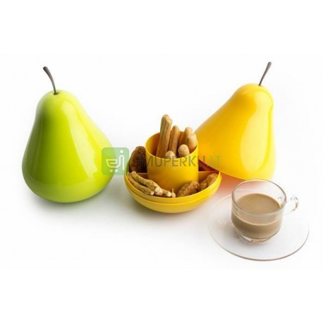 Fruit container PEAR - yellow