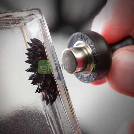 Ferrofluid with 2 magnets