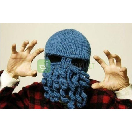 Octopus hat - dark blue