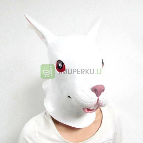 Rabbit mask - white
