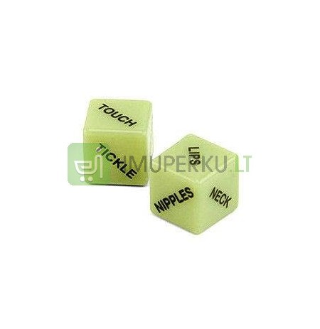 Glow in the dark Sex Dices TXT ENG