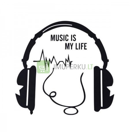 Wall sticker MUSIC IS MY LIFE