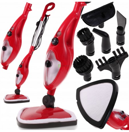 STEAM MOP Steam cleaner CLEANER 11 nozzles 1300W