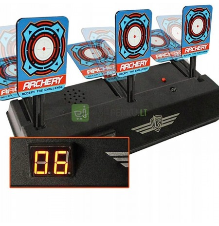 ELECTRIC SHIELD FOR NERF LAUNCHERS TARGET SHOOTING