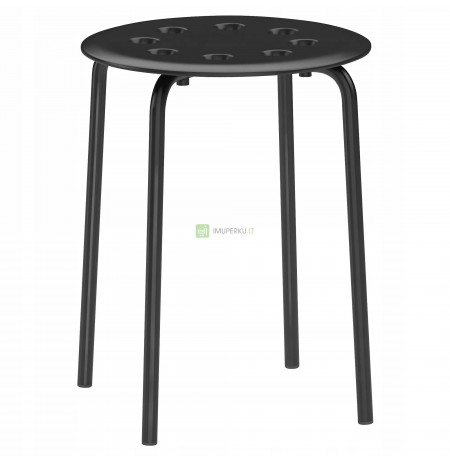 IKEA MARIUS Stool Stool Kitchen chair BLACK