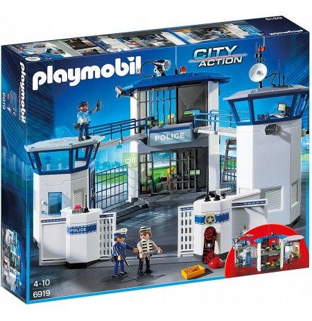 PLAYMOBIL 6919 Police station with a prison