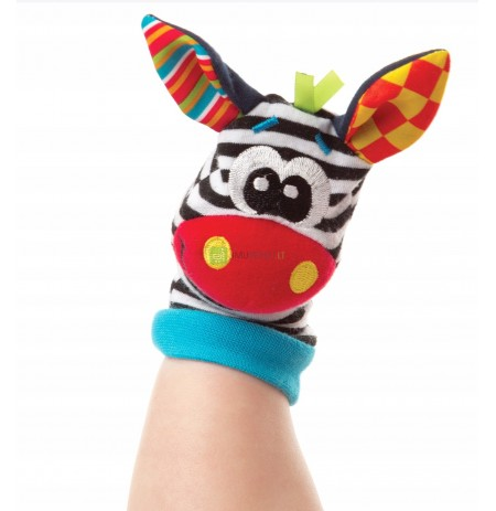 A set of 4 pcs. Socks Bands Rattles SOZZY CE
