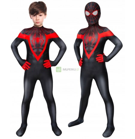 THE LATEST OUTFIT SPIDERMAN MILES MORALES 128/134