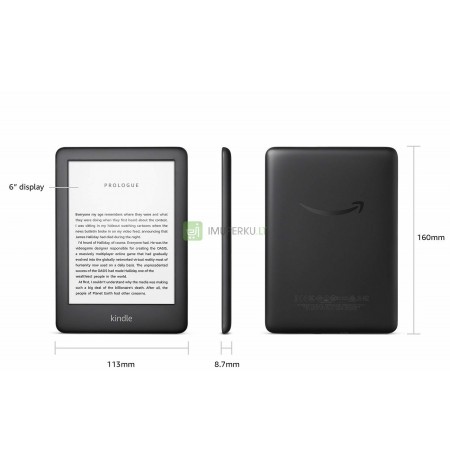 Amazon Kindle 10th Gen 8GB Wi-Fi black