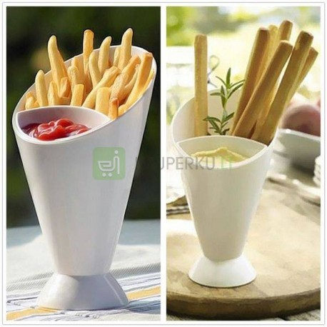 Dipping cone 2in1
