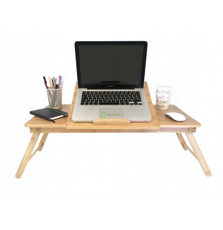 EXCLUSIVE WOODEN BAMBOO LAPTOP TABLE