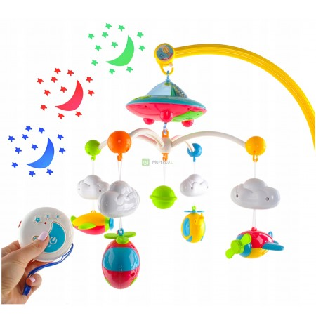Music carousel for the crib Melodies music box
