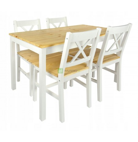 Table with chairs for dining room, living room, kitchen 246225