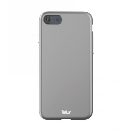 Tellur Cover Premium Soft Solid Fusion for iPhone 7 silver