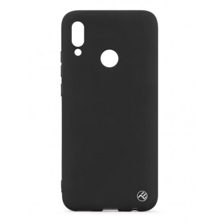 Tellur Cover Matte Silicone for Huawei Y9 2019 black