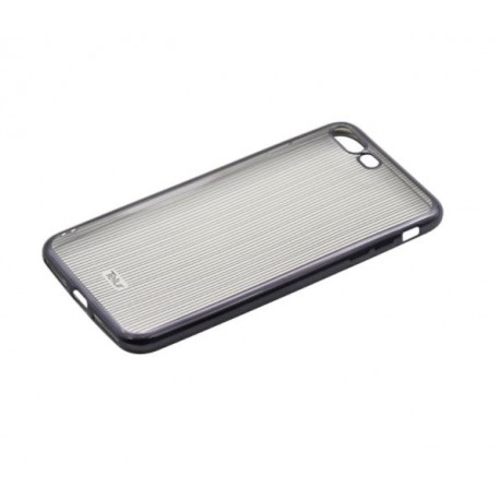 Tellur Cover Silicone for iPhone 7 Plus Vertical Stripes black