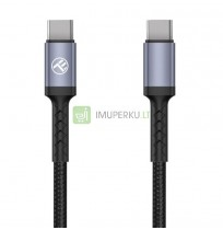 Tellur Type-C To Type-C cable 3A, 60W, 1m black