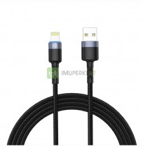 Tellur Data cable USB to Lightning with LED Light, 2m black