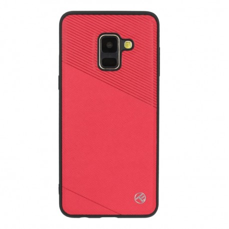 Tellur Cover Exquis for Samsung Galaxy A8 2018 red