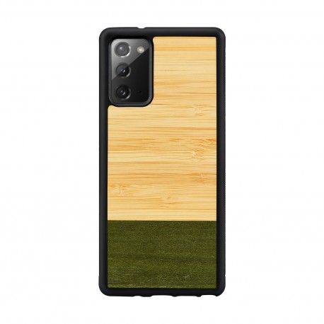 MAN&WOOD case for Galaxy Note 20 bamboo forest black