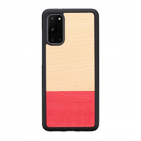 MAN&WOOD case for Galaxy S20 miss match black