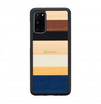 MAN&WOOD case for Galaxy S20 province black