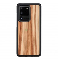 MAN&WOOD case for Galaxy S20 Ultra cappuccino black