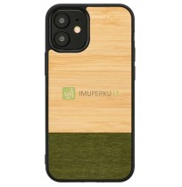 MAN&WOOD case for iPhone 12 mini bamboo forest black