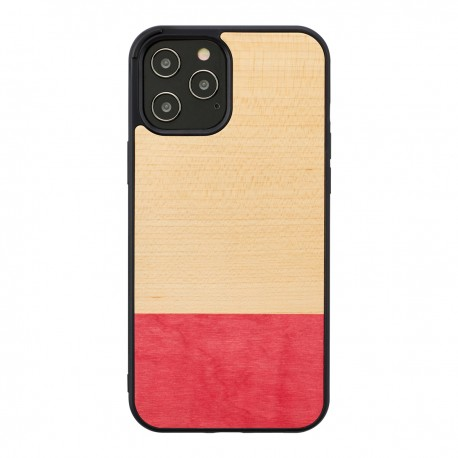 MAN&WOOD case for iPhone 12/12 Pro miss match black