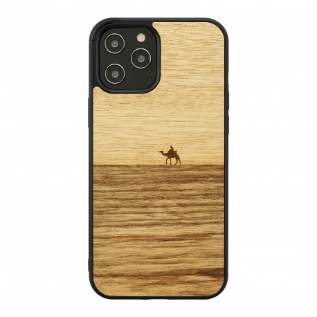 MAN&WOOD case for iPhone 12 Pro Max terra black