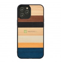 MAN&WOOD case for iPhone 12 Pro Max province black