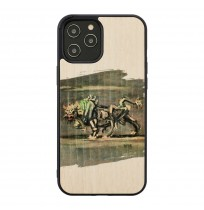 MAN&WOOD case for iPhone 12 Pro Max white bull