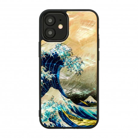 iKins case for Apple iPhone 12 mini great wave off