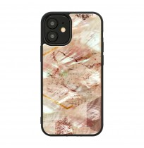 iKins case for Apple iPhone 12 mini pink marble