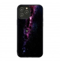 iKins case for Apple iPhone 12/12 Pro milky way black