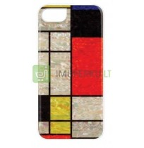 iKins case for Apple iPhone 8/7 mondrian white