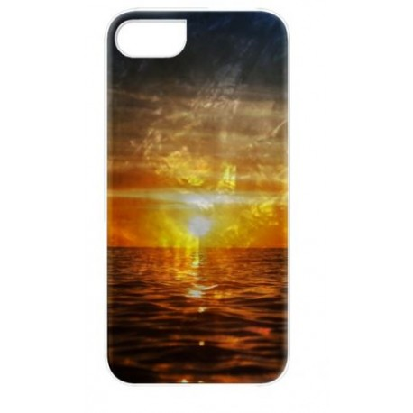 iKins case for Apple iPhone 8/7 sunset white